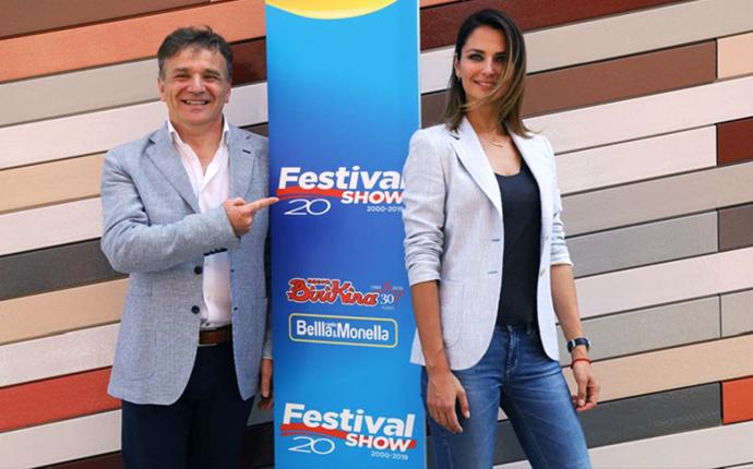 Anna Safronicìk e Paolo Baruzzo conduttori di Festival Show 2019